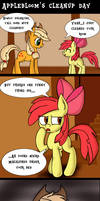 Applebloom's Cleanup Day