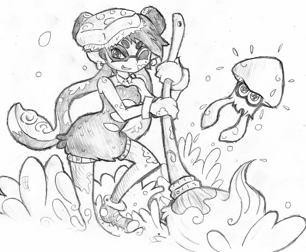 Splatoon-Callie and Marie by MrFulp