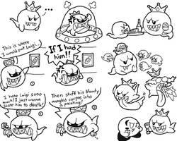 King Boo Doodles 2