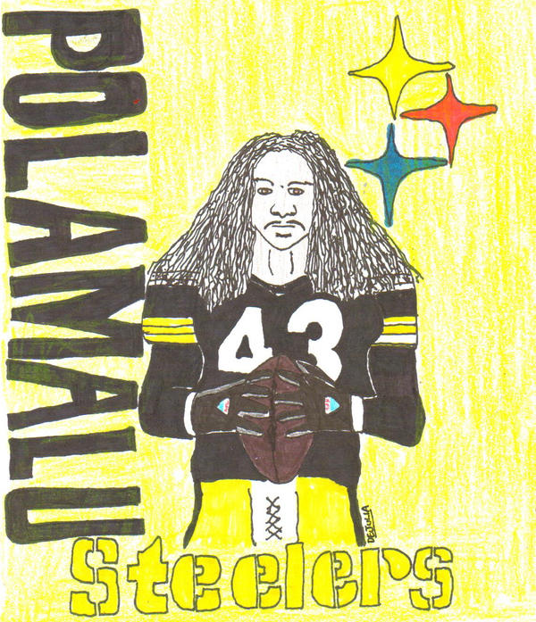 Troy Polamalu by Buhla