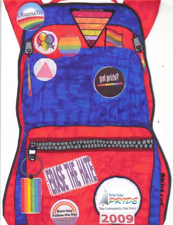 Gay Backpack by Buhla