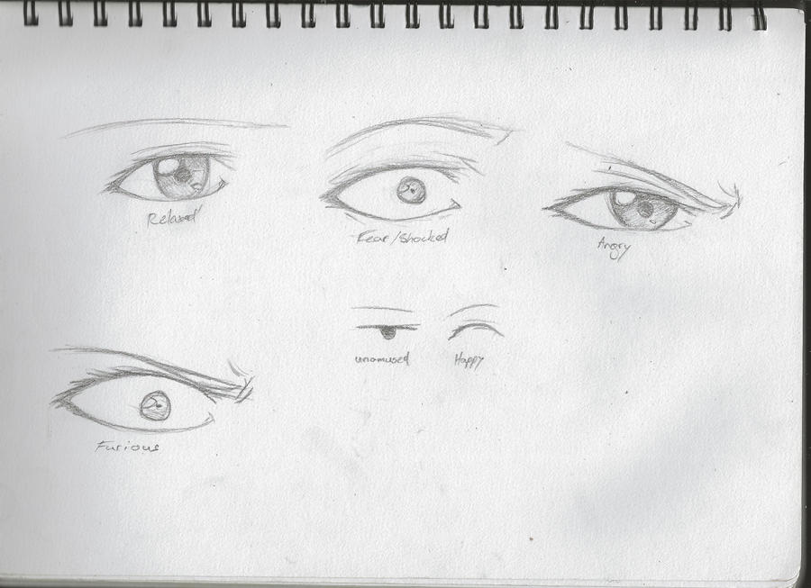 Eye Emotions By Ziiteara