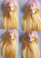 Custom doll face up tutorial 2 by Tenshi-blues