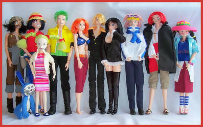 One Piece dolls update 3 by Tenshi-blues
