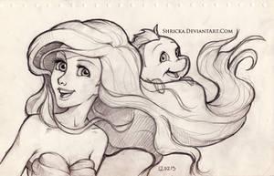 Sketch style (Ariel) 6