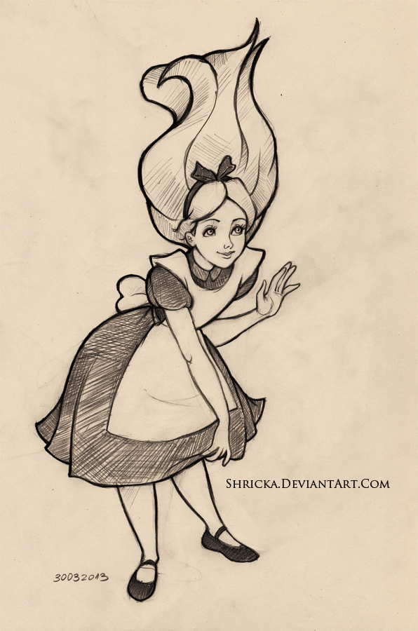Sketch style (Alice) 14