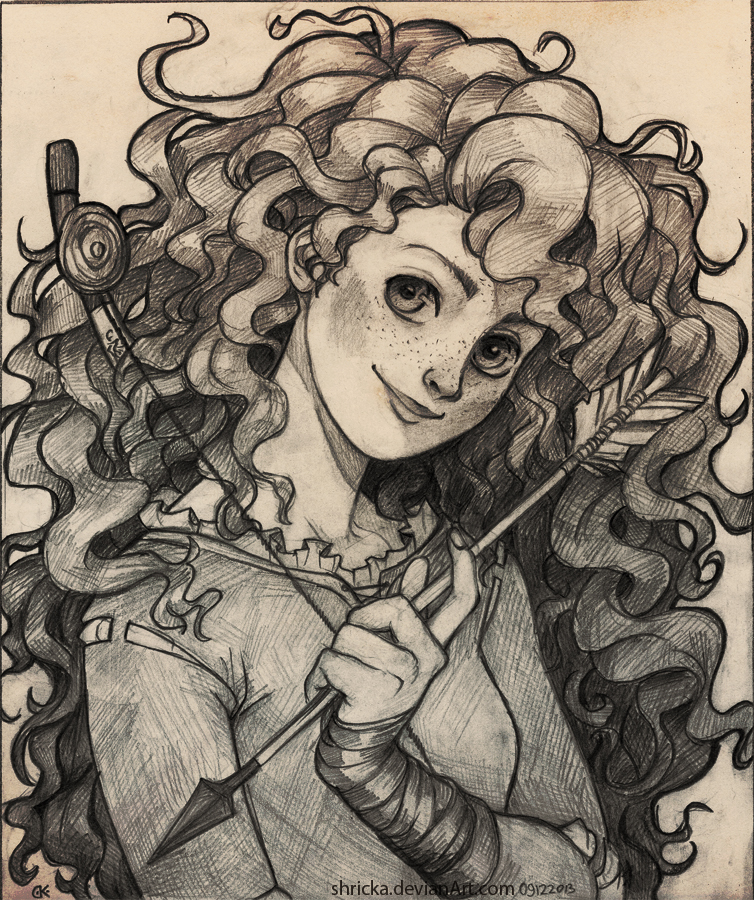 Merida - Do not challenge me by Shricka