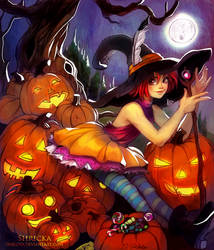 Trick or Treat (Contest) by Shricka