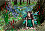 Speaking to the fairy