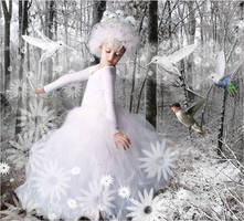 The White Birds Fairy by Karyl-Delta