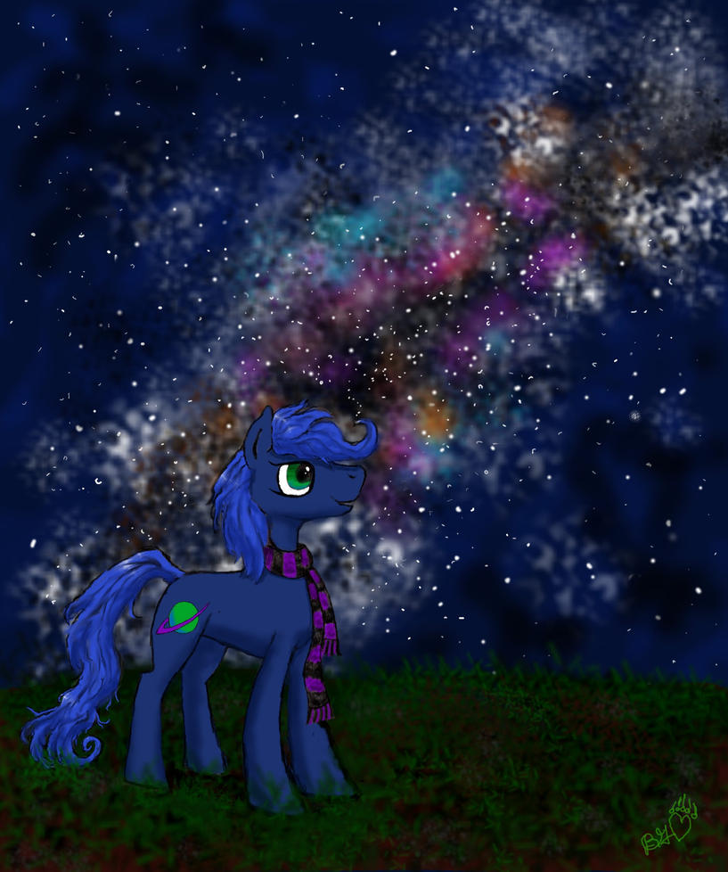 Sojourn takes in the night sky by Pwnyville