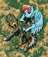 Halo Dash by Pwnyville