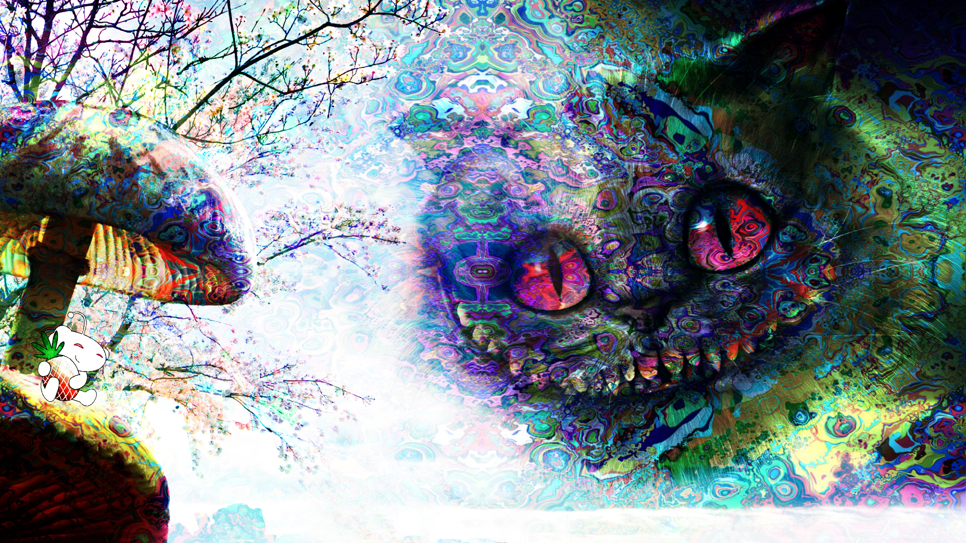 Cheshire Cat by ConfusedNarwhal on DeviantArt