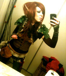 Elf Hunter-ish Costume by Natatronic