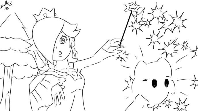 princess rosalina luma coloring pages coloring pages