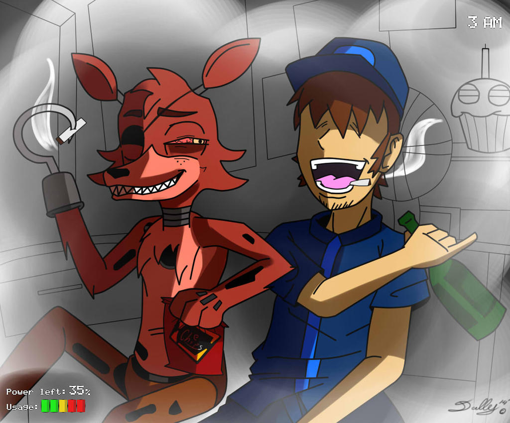 Foxy amp mike fnaf five night at freddy s pinterest