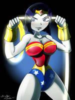 Raven Wonder Woman by Dalley-Le-Alpha