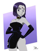 Raven Dress by Dalley-Le-Alpha