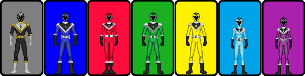 Power Rangers Ultimate by Rasic1213