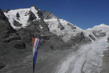 Pasterze Glacier by Jaqie