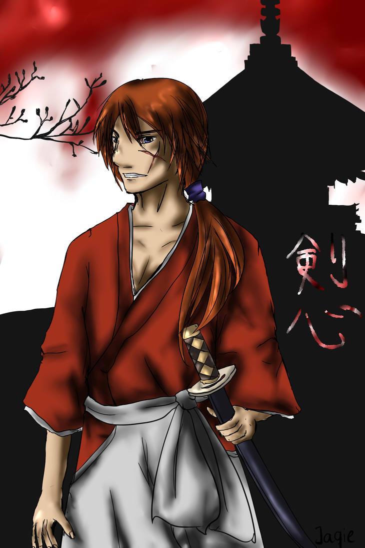 Himura Kenshin, Hitokiri Battousai by Jaqie