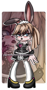 [400 points ] Bunny maid sonic OC [OPEN]