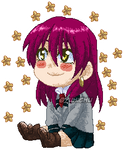 COM|Akaya chibi pixel look the stars