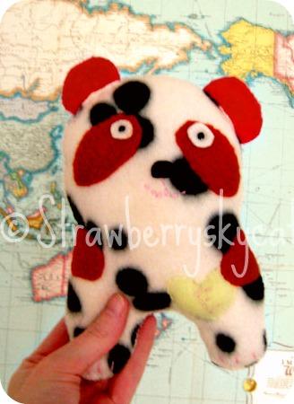 Totem Plush - Cow-Panda by strawberryskycat