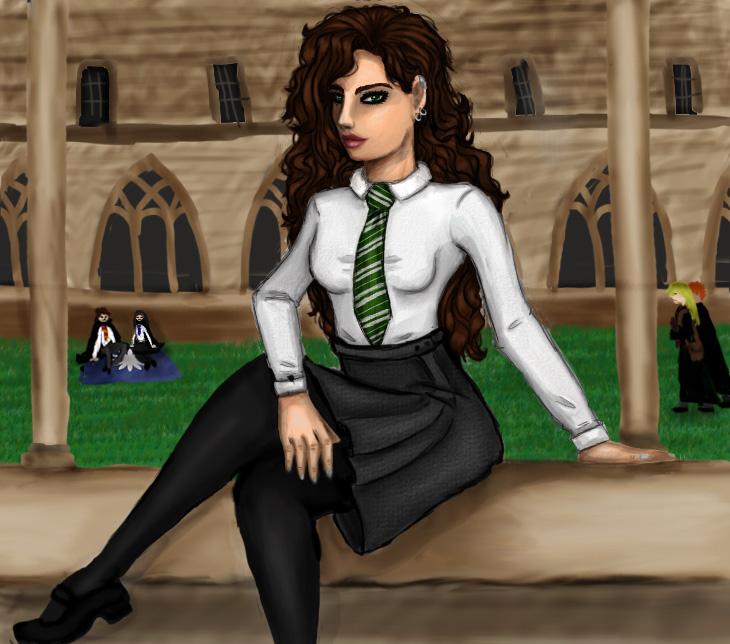 Harry Potter Slytherin Girls Slytherin Girl ...