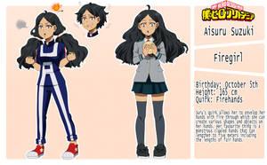 [BNHA OC] Aisuru Suzuki: Character Sheet by Mileovi