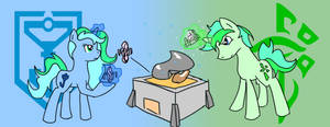 Ingress Poni by litle-dragon