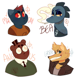more nitw stickers!!
