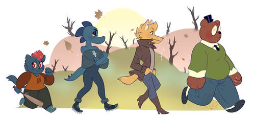 night in the woods [ background ]