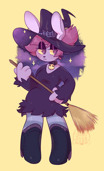 Witch Bunny Enid