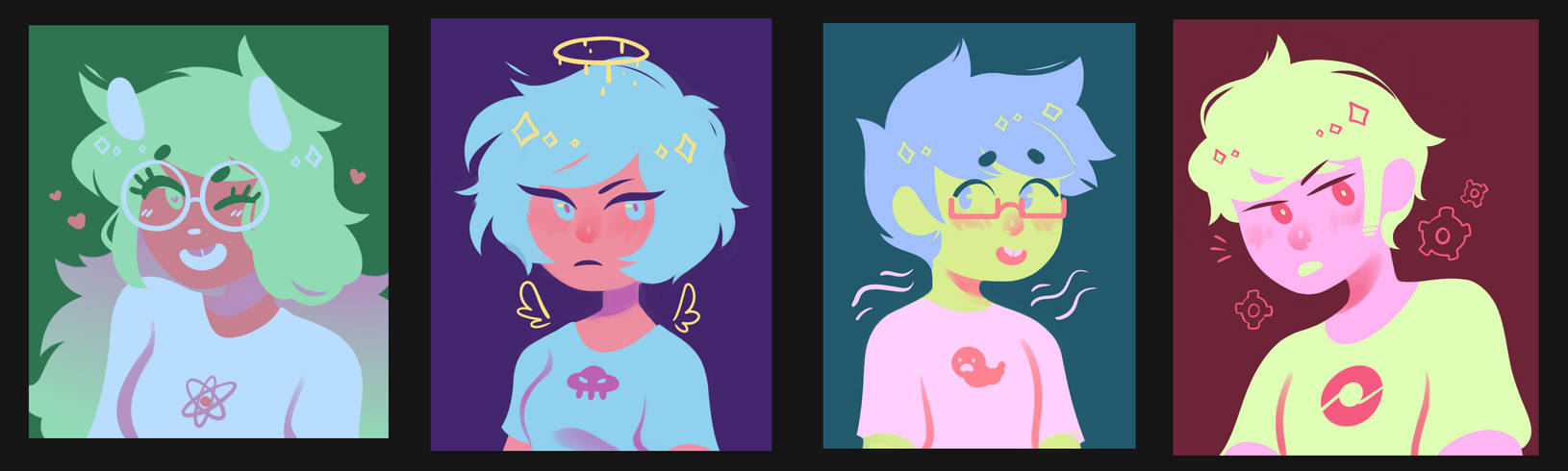 beta kids palette paintings