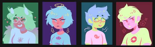 beta kids palette paintings