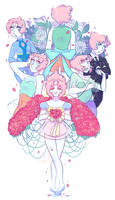 pearls [ steven universe print ] by dongoverlord