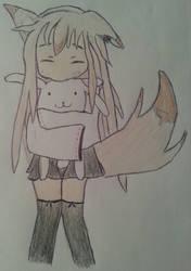 Foxpeluche by DreamyLunarFox