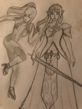 Samus And Zelda