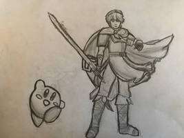 Marth And Kirby