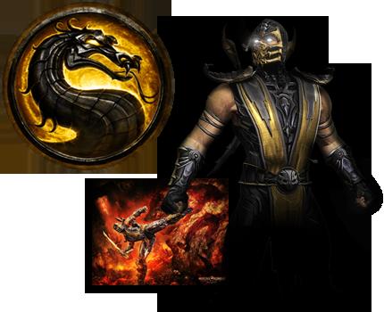 Scorpion Mortal Kombat 9 by xDarkArchangel