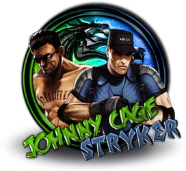 Stryker and Cage by xDarkArchangel