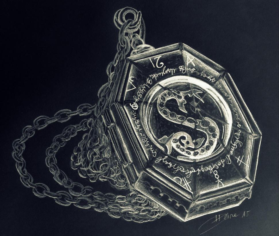 Risultati immagini per slytherin's locket