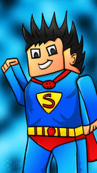 SuperCraft (Mine-craft Super-Man)