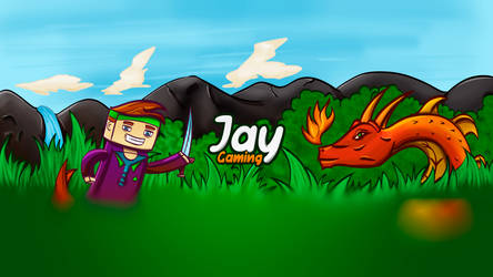 Youtube Banner Design for JayGaming