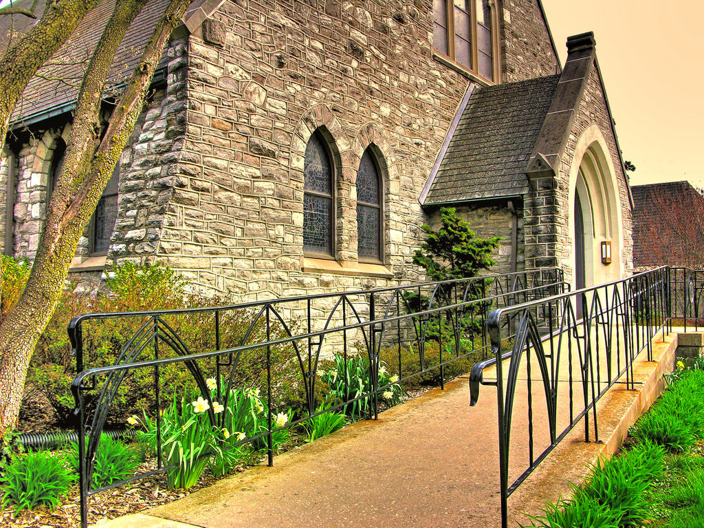 HDR Church by NullCoding