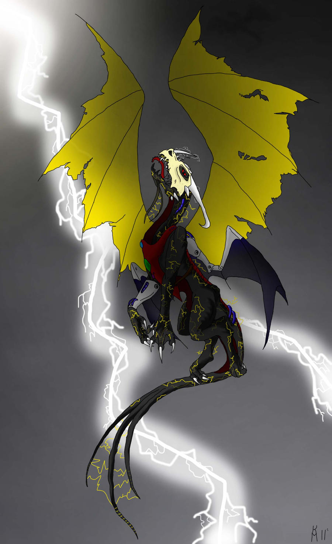 Lightning Dragon by the1blackdragon on DeviantArt