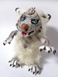 Fuzzy Wolf by sandygrimm2000
