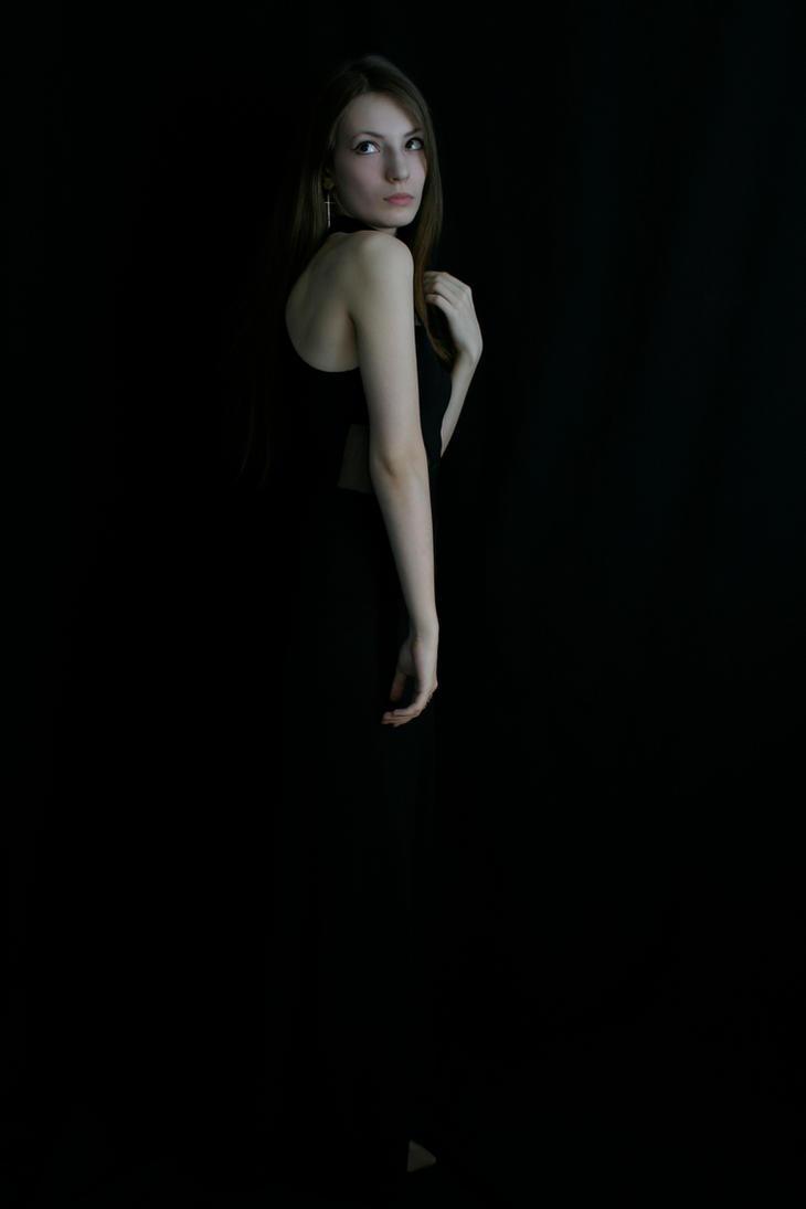 black dress stock 1 by NicklausseStock