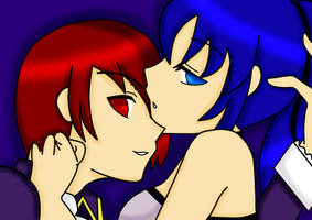 Iori And Leona- Madness of Duke Venomania Cosplay by VikaDan